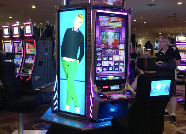 Ellen Degeneres Slot Machines At